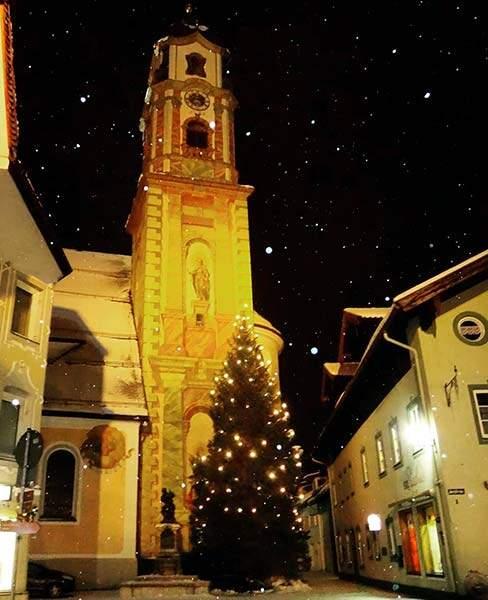 decoração de Matal em Mittenwald, lindo exemplo do Natal na Alemanha